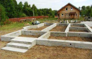 Фундамент частного дома